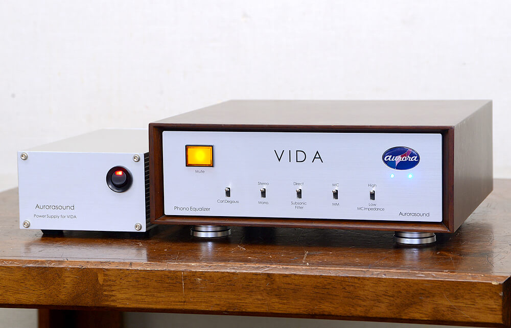 Aurorasound VIDA フォノイコライザーアンプ1枚目