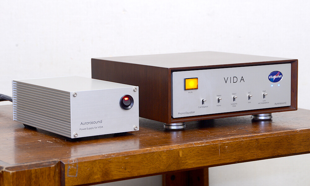 Aurorasound VIDA フォノイコライザーアンプ2枚目