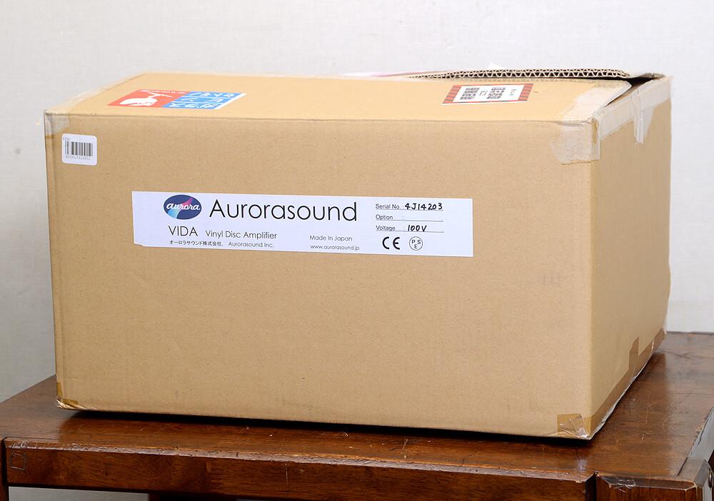 Aurorasound VIDA フォノイコライザーアンプ6枚目