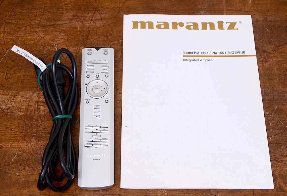 Marantz PM-13S1 プリメインアンプ5枚目
