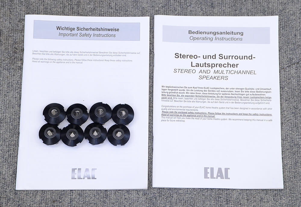 ELAC FS247 トールボーイ型スピーカー7枚目