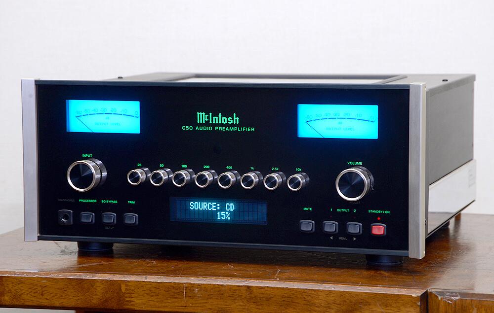 McIntosh C50 コントロールアンプ1枚目