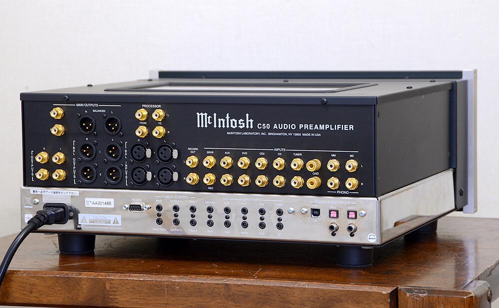 McIntosh C50 コントロールアンプ3枚目