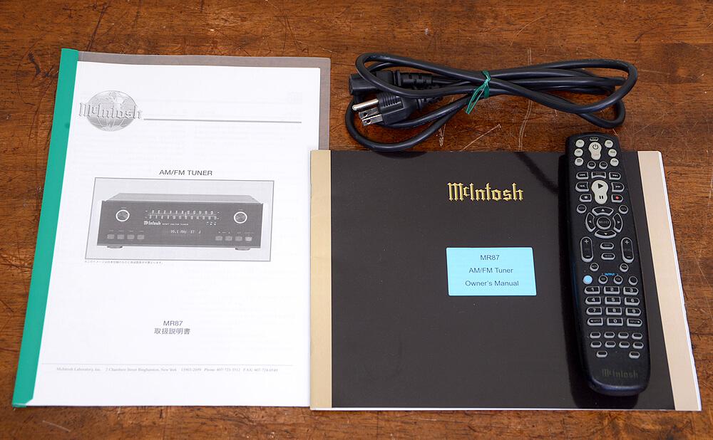 McIntosh MR87 AM/FMステレオチューナー5枚目