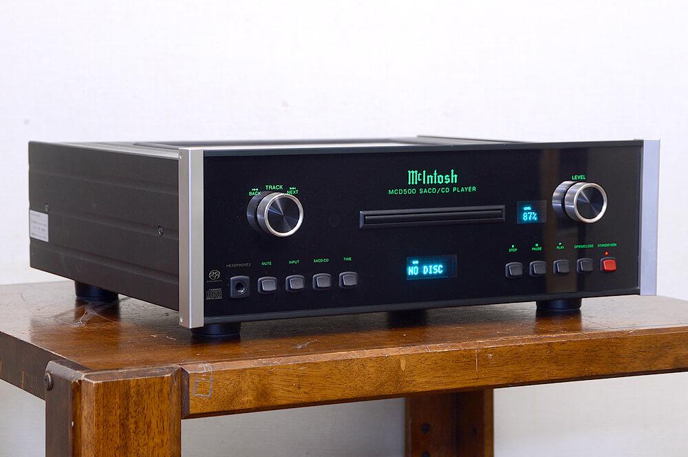 McIntosh MCD500 SACD/CDプレーヤー2枚目