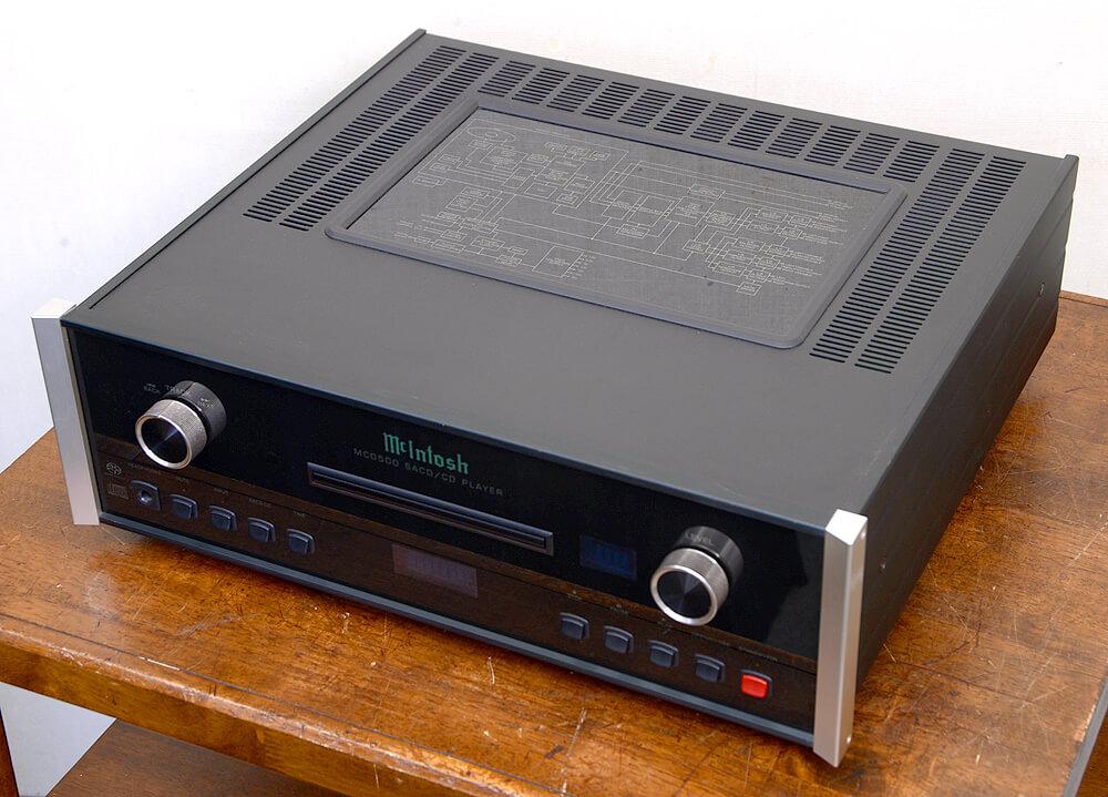 McIntosh MCD500 SACD/CDプレーヤー4枚目