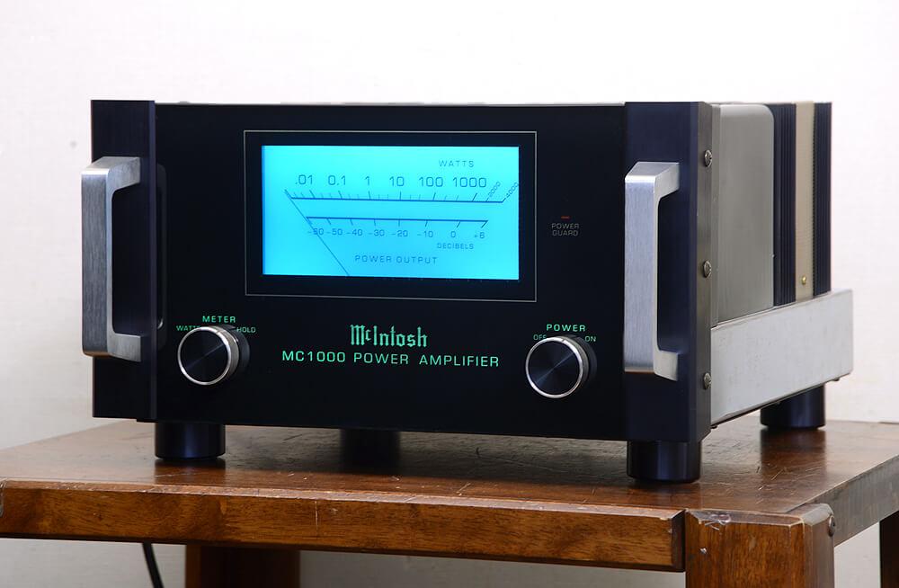 McIntosh MC-1000 モノラル パワーアンプ1枚目