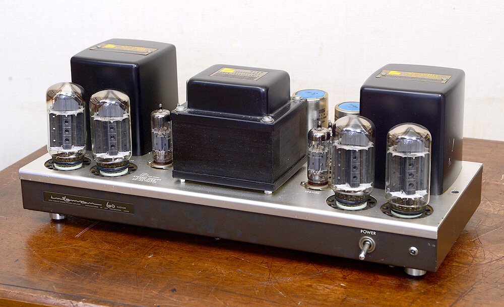 LUXMAN MQ60 Custom 真空管パワーアンプ4枚目