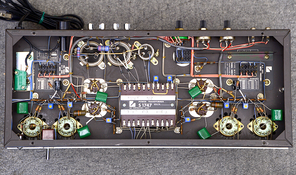 LUXMAN MQ60 Custom 真空管パワーアンプ7枚目