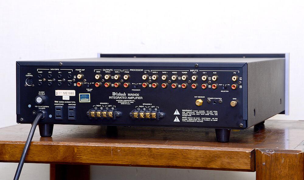 McIntosh MA6400 プリメインアンプ3枚目