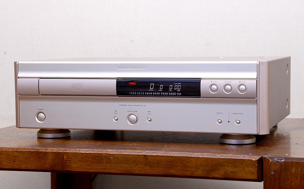 Marantz CD-16F CDプレーヤー1枚目