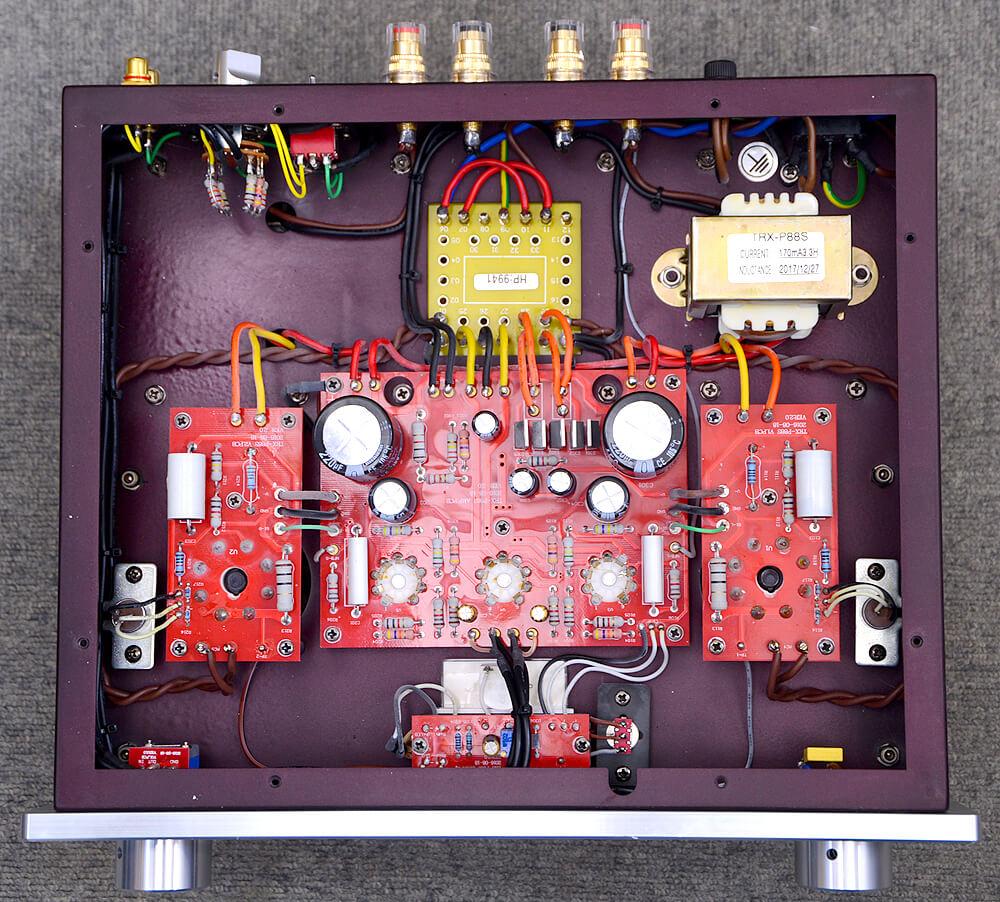 TRIODE TRX-P88S 真空管プリメインアンプ5枚目