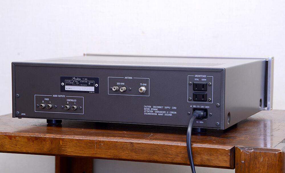Accuphase T-103 デジタルディスプレイ FMチューナー3枚目