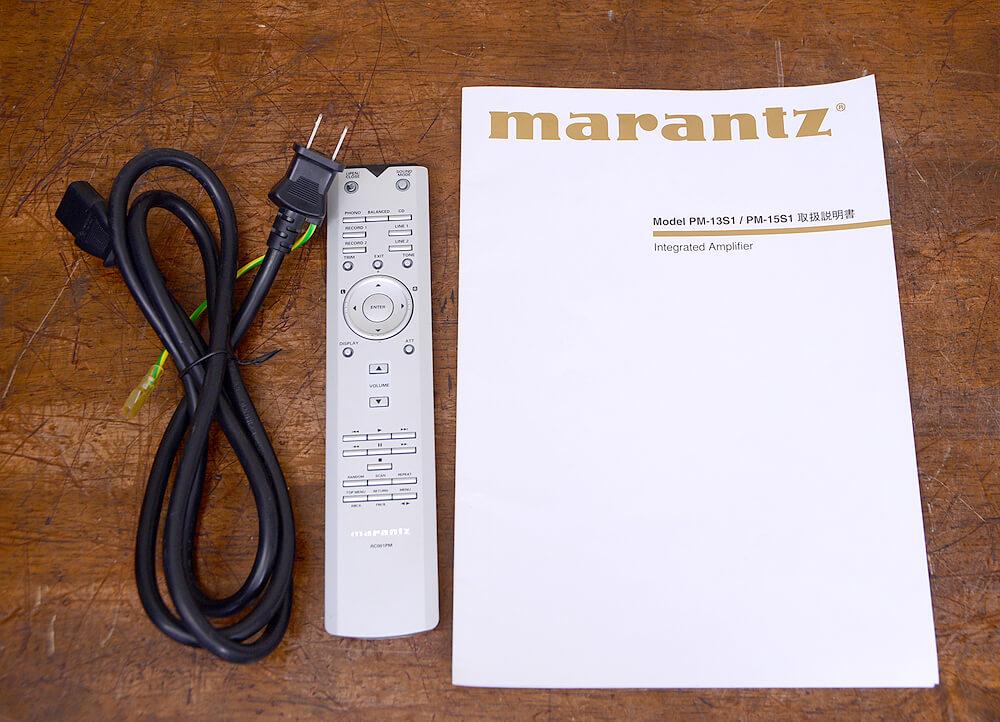 Marantz PM-15S1 プリメインアンプ5枚目