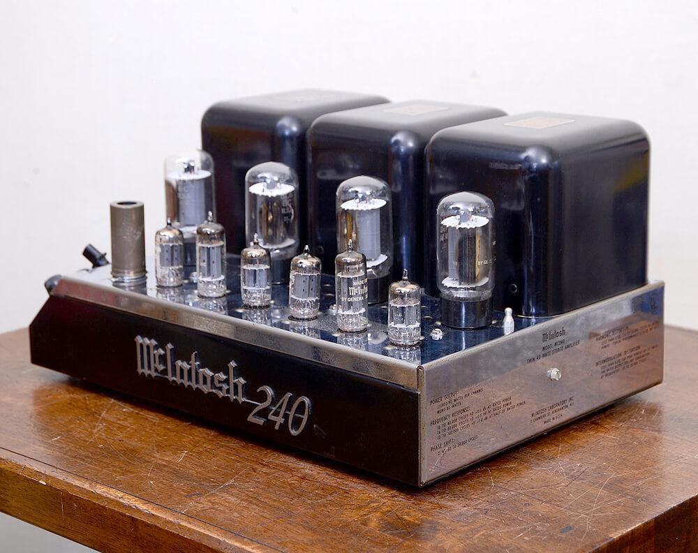 McIntosh MC240 真空管パワーアンプ2枚目