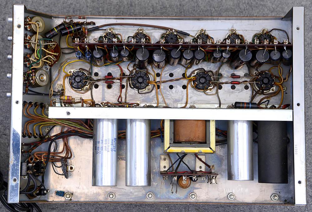 McIntosh MC240 真空管パワーアンプ6枚目