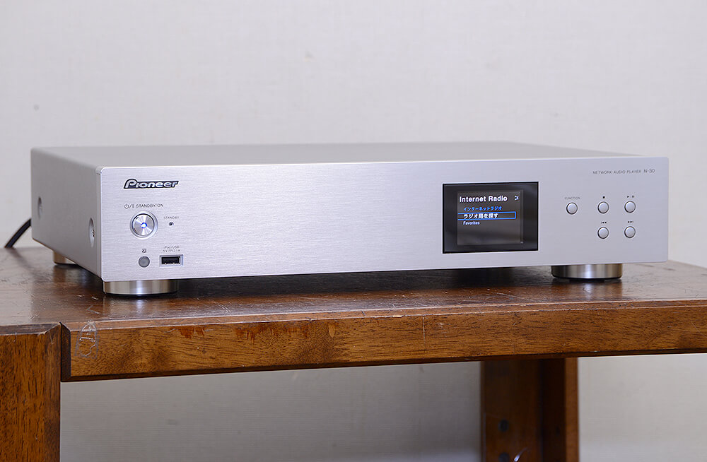 PIONEER N-30 ネットワークオーディオ プレーヤー2枚目