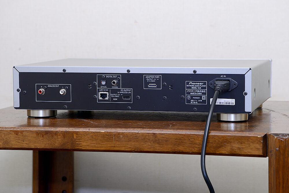 PIONEER N-30 ネットワークオーディオ プレーヤー3枚目