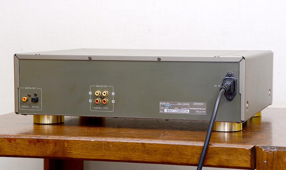 DENON DCD-1650AR CDプレーヤー3枚目