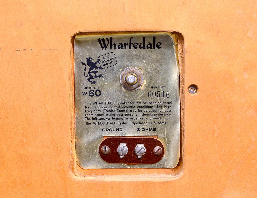 WHARFEDALE W60 2WAYスピーカー6枚目