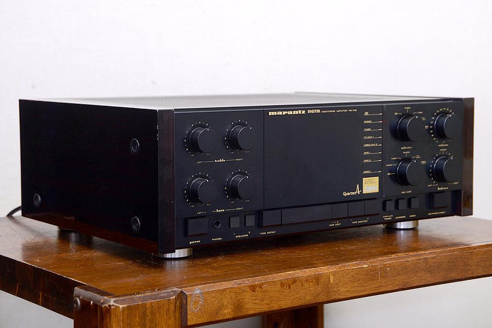 Marantz PM-74D プリメインアンプ2枚目