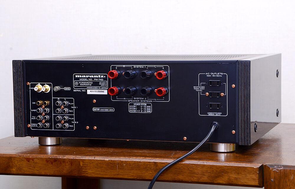 Marantz PM-74D プリメインアンプ3枚目