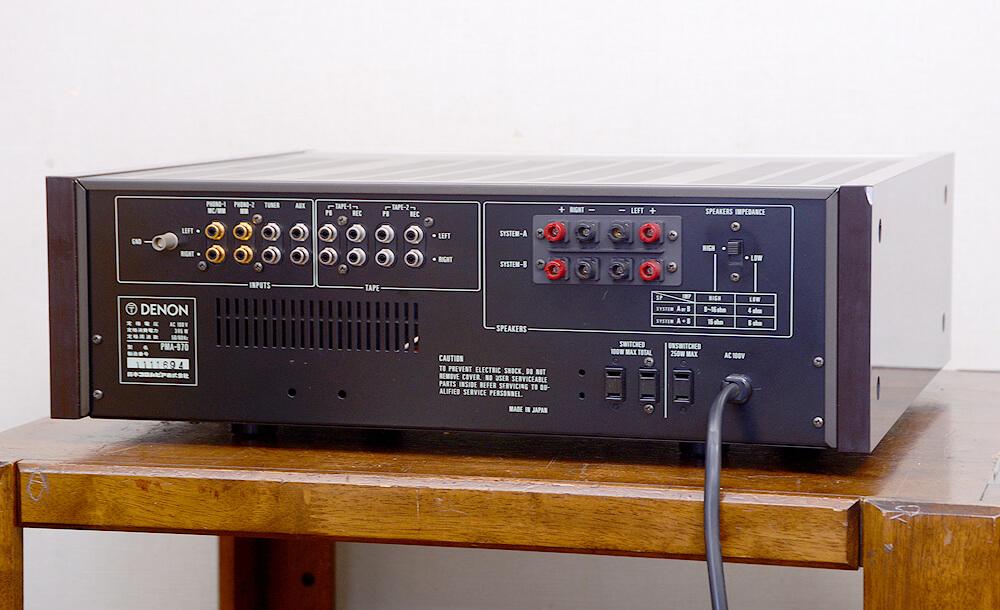 DENON PMA-970 プリメインアンプ3枚目