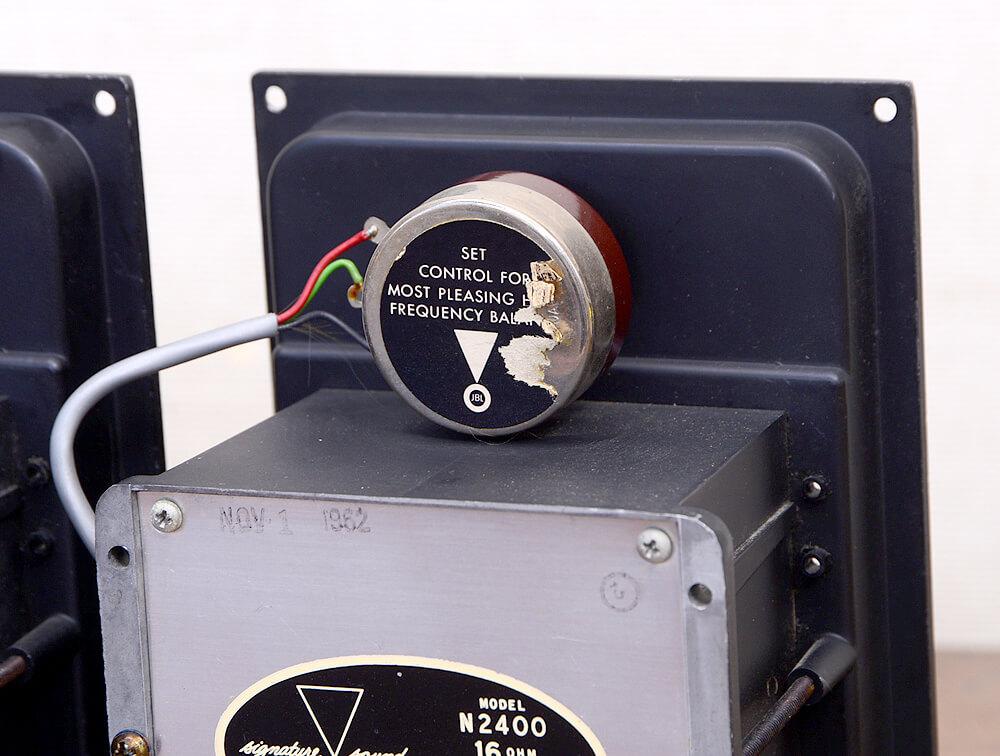 JBL N2400 16Ω スピーカーネットワーク4枚目