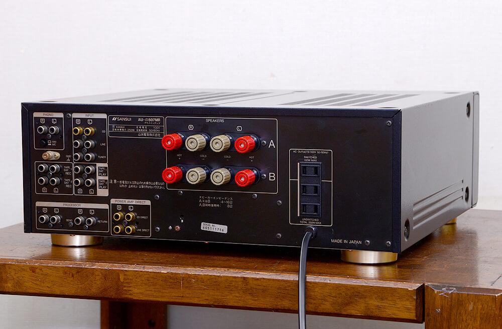 SANSUI AU-α607MR プリメインアンプ3枚目