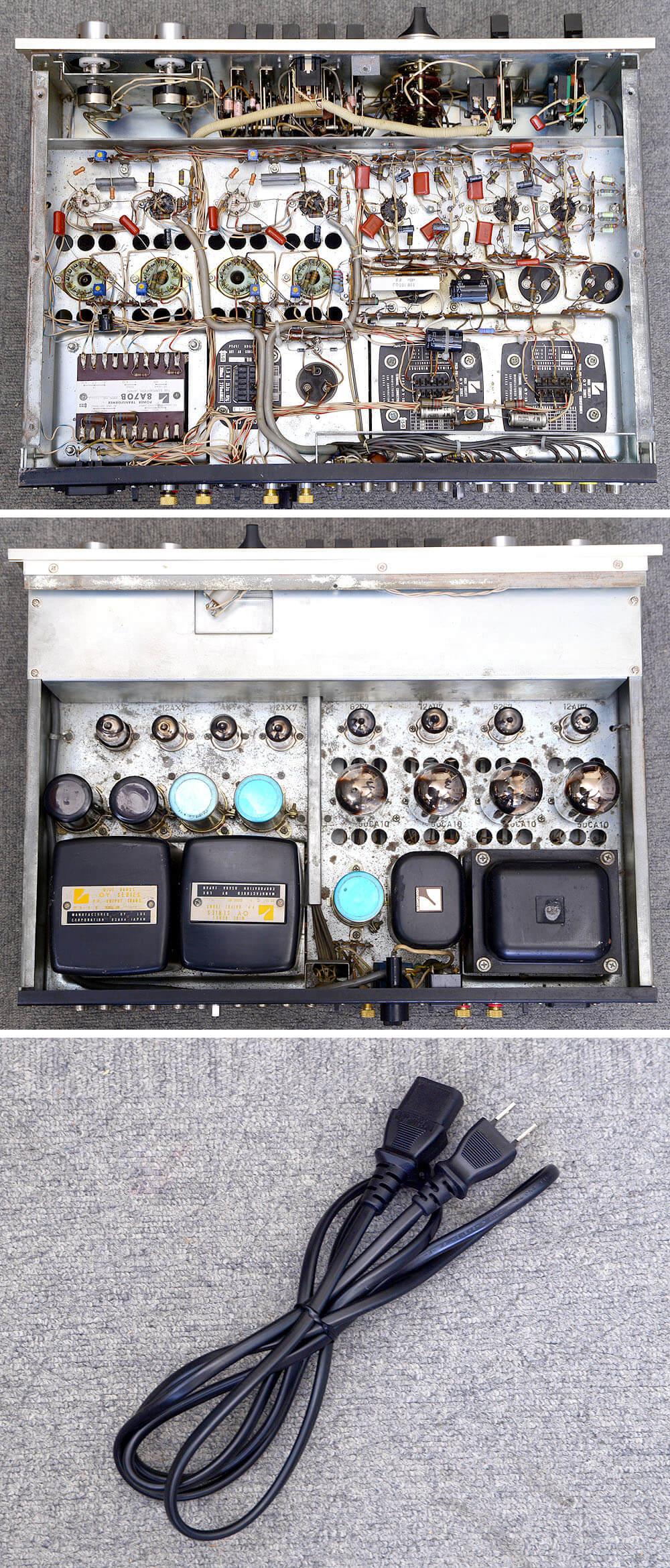 LUXMAN SQ38FD 真空管プリメインアンプ6枚目