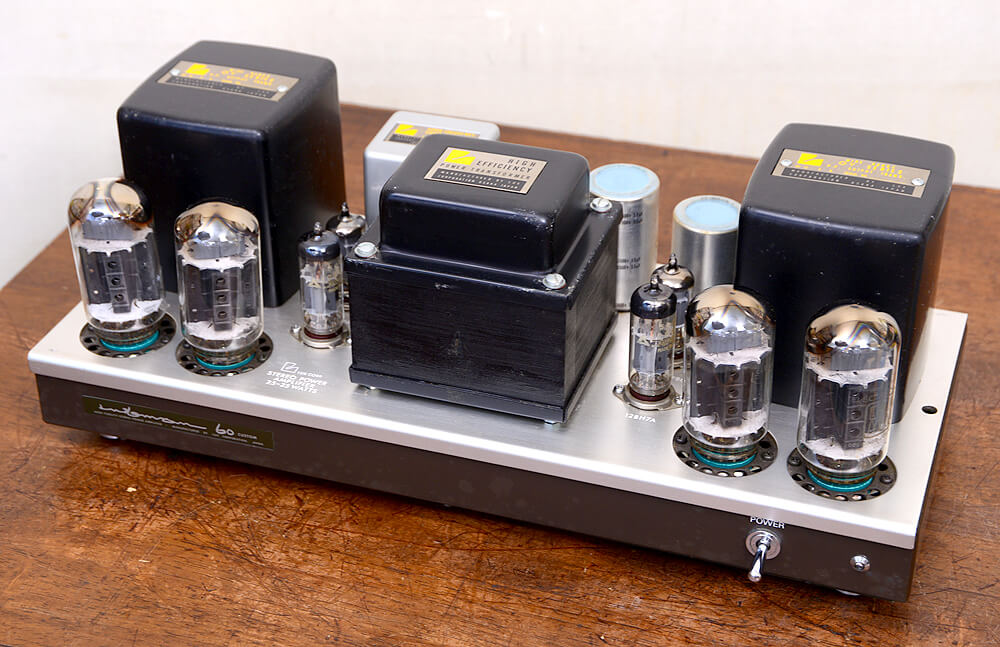 LUXMAN MQ60 Custom 真空管パワーアンプ5枚目