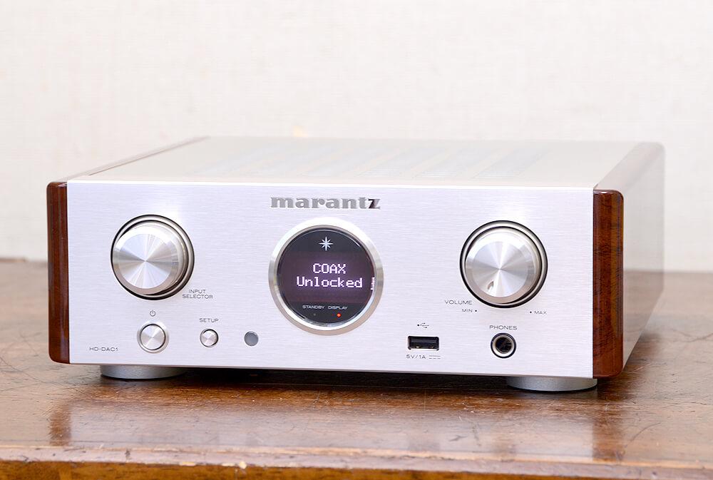 Marantz HD-DAC1 ヘッドフォンアンプ1枚目