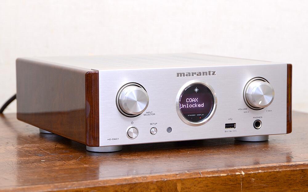 Marantz HD-DAC1 ヘッドフォンアンプ2枚目