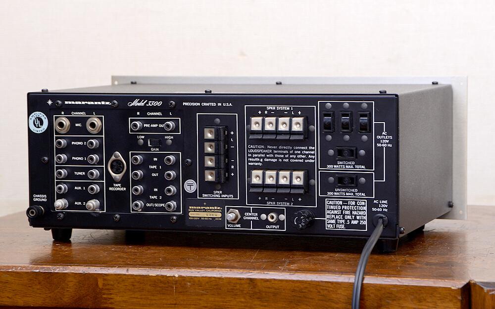 Marantz model 3300 コントロールアンプ3枚目