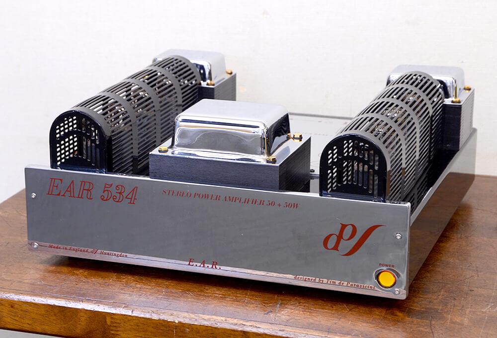 EAR 534 真空管パワーアンプ1枚目