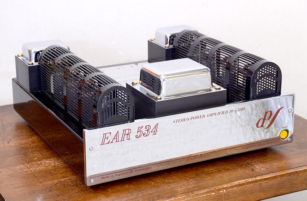 EAR 534 真空管パワーアンプ2枚目