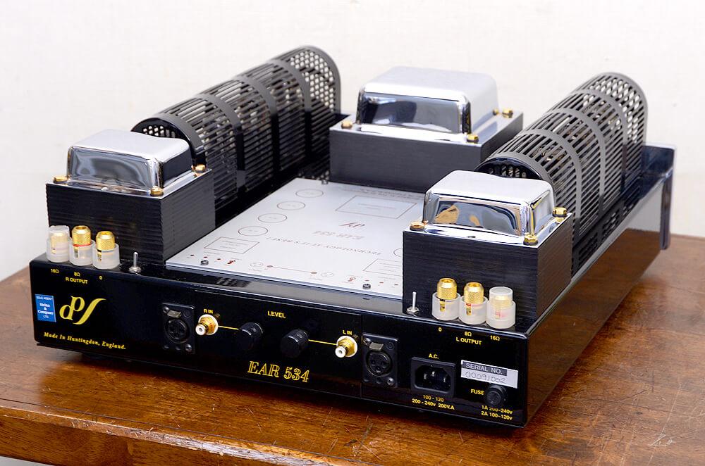 EAR 534 真空管パワーアンプ3枚目