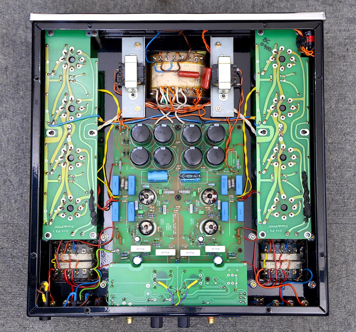 EAR 534 真空管パワーアンプ5枚目