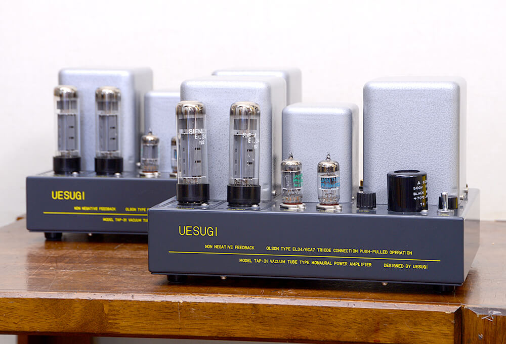 UESUGI TAP31 モノラル真空管パワーアンプ1枚目